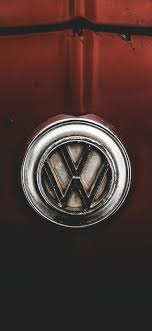 volkswagen logo 1125x2436 wallpaper