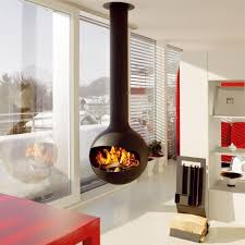 free standing fireplace gas