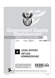 Http Www Gpwonline Co Za Gazettes Gazettes 37607 9 5 Legala Pdf