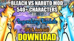 Bleach Vs Naruto MOD 540+ CHARACTERS (PC) [DOWNLOAD] - YouTube