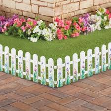 Butterfly Picket Fence Garden Border Set Of 4 Collections Etc