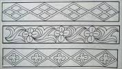 Sketsa Batik Sederhana