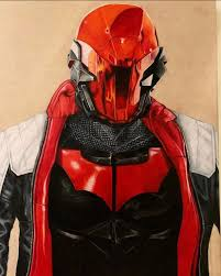 Artwork] Arkham inspired Red Hood by Adriana Miller : DCcomics