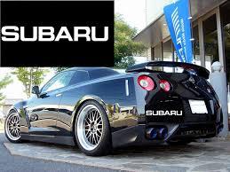 Subaru Vinyl Decal Car Performance Stickers