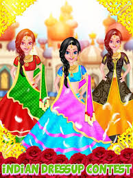 indian doll makeup and dressup for