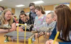 Bridge break offers learning opportunity at school | Local News |  chroniclejournal.com