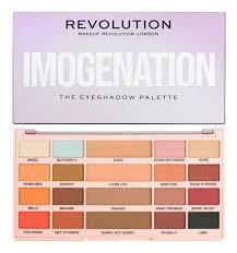 x imogenation eyeshadow palette 20 8g