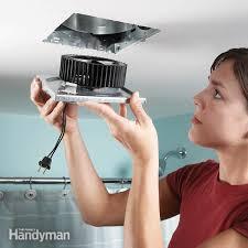 fix a noisy bathroom fan the family