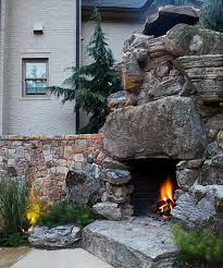 outdoor fireplaces fire pits in