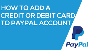 credit or debit card to paypal account