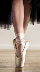 wallpaper ballerina black skirt shoes