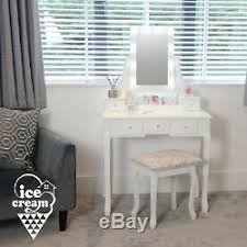 dressing table with lights mirror