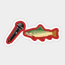 Mic Trout Mike Trout Sticker Teepublic Uk