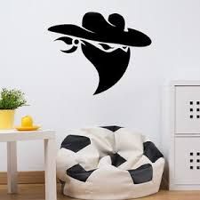 Cowboy Bandit Wall Decal Style And Apply