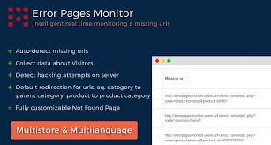 error pages monitor redirect manager
