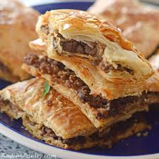 phyllo meat pie egyptian goulash