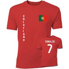 cristiano ronaldo portugal flag t shirt
