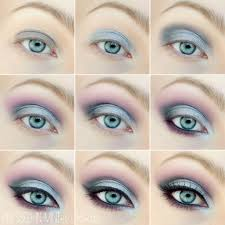 accenting green eyes makeup for summer