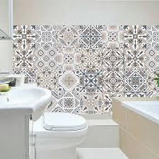 Tile Stickers For Kitchen Bathroom Vinyl Tile Self Adhesive Halalcitymart