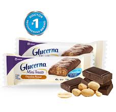 glucerna chocolate peanut mini snacks