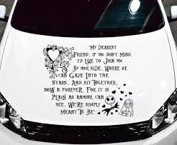 Nightmare Before Christmas Quote My Dearest Friend Car Decal Vinyl Graphic Nightmare Before Christmas Quotes Christmas Quotes Christmas Car