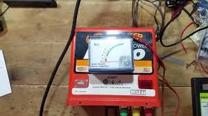 Gallagher M800 Electric Fence Charger Test Youtube