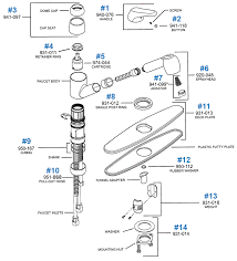 pfister kitchen faucet parts