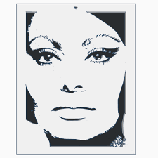 Download free STL file Sophia Loren 2 • 3D printable object ・ Cults