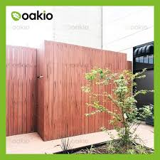 China Customized Wpc Composite Wood Garden Fence Board Manufacturers Factory Low Price Oakio