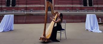 berkshire harpists hire a wedding