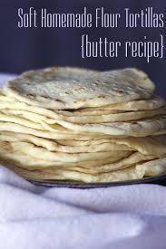 homemade flour tortillas er recipe