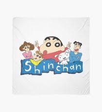 shin chan scarves redbubble