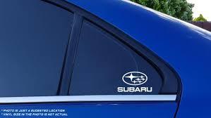 Subaru Logo Car Windshield Window Decal Vinyl Ebay