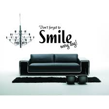 Shop You Make Me Smile Wall Art Sticker Decal Overstock 11523777
