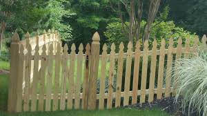 Residential Fencing Picket Fence Installation Company In Virginia Colonial Gothic Picket Fence Installers