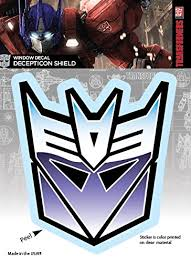 Transformers Decepticon Shield Logo Car Buy Online In China At Desertcart
