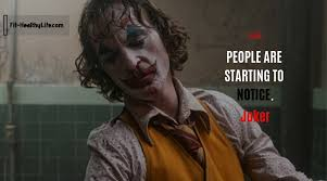 joker quotes the most impact on life