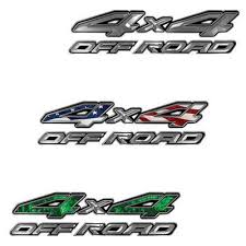 Weston Ink 4x4 Off Road Decals Nissan Style