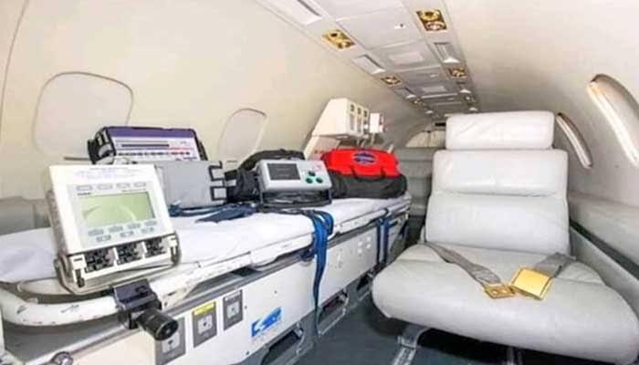 "Image result for nawaz sharif air ambulance"""