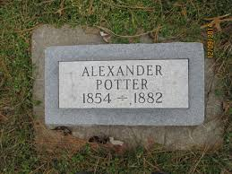 Alexander Potter (1854 - 1882) - Genealogy
