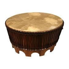african drum table drum coffee