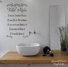 Top 10 3d Bathroom Rules Sticker Near Me And Get Free Shipping A671