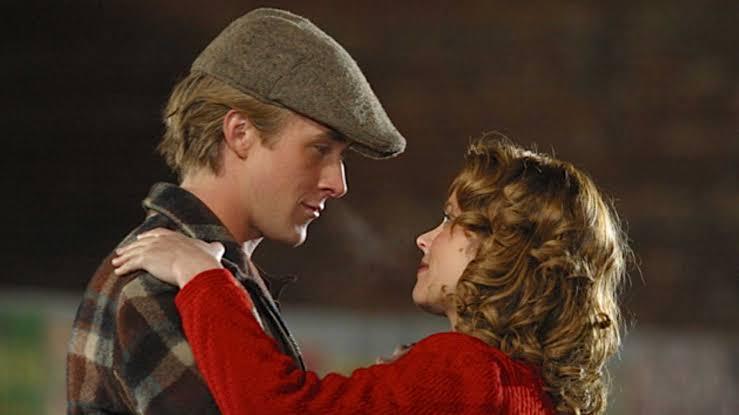 Valentine's movies 'notebook'