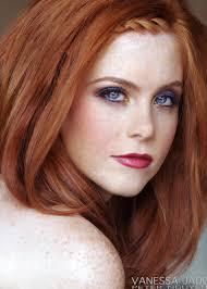 fair skin red hair and blue eyes