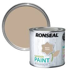 Ronseal Garden Paint Warm Stone 750ml Mcnairs Building Supplies