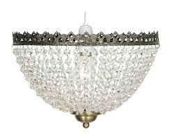 antique brass ceiling lamp shade