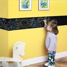 Playroom Idea Chalkboard Paint Border Cute If They Keep It On The Border Kreative Kinderzimmer Kinderzimmer Dekor Kinder Zimmer