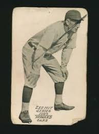 1923 Zeenut (PCL) -IVAN HOWARD -Mgr (Oakland Oaks) -Del Howard's brother    eBay