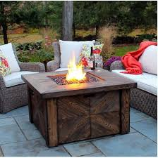 patio fire pit table propane heater