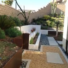 Steel Wall Fence Design Modern Garden San Diego By Exterior Designs Landscape